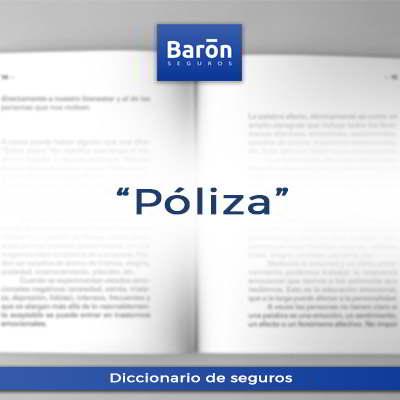 Poliza definición