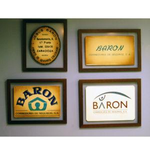 Baron Correduria de Seguros logos